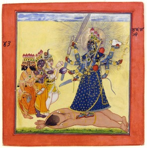 1 1200 72 dpi Goddess_Bhadrakali_Worshipped_by_the_Gods-_from_a_tantric_Devi_series_-_Google_Art_Project