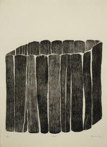 72 dpi Zarina Hashmi, Cage, 1970., 19 x 19 Whitney Museum wo2011.9_hashmi_1706