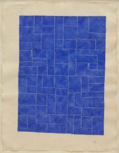 1200 72dpi David_Austen,_Untitled_(Blue)_14.10.95,_1995,_Gouache_on_paper,_59_x_45.5cm_paper_size,_64.5_x_51_cm,_frame_size,_Courtesy_of_the_artist,_Credit_Peter_white_1