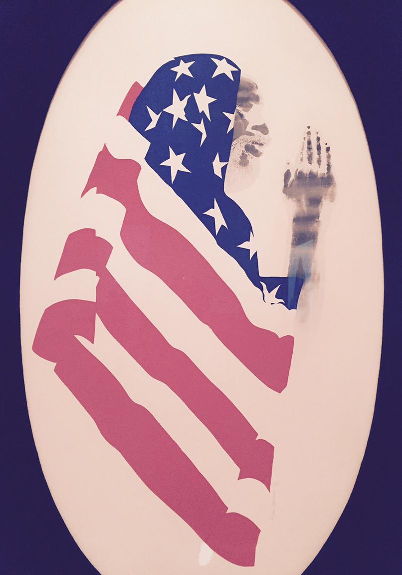 11 David Hammon Pray for America 1969
