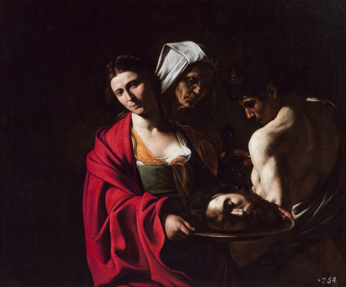 Salomé with the Head of John the Baptist, by Caravaggio