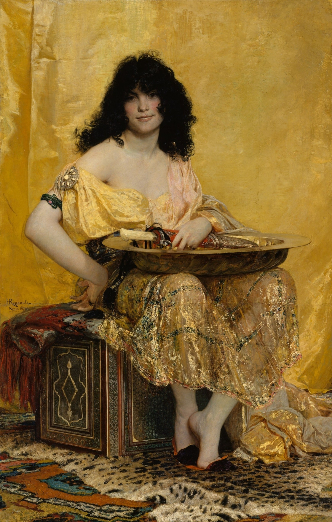4 72 Henri_Regnault_(French,_Paris_1843–1871_Buzenval)_-_Salomé_-_Google_Art_Project